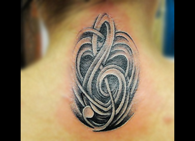 Black & Grey Tattoo Modern Abstract
