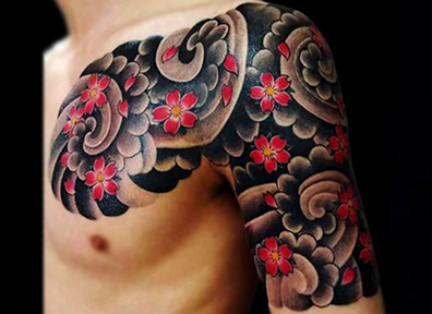 Japanese Tattoo Cherry Blossom