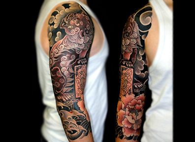 Japanese Tattoo Dragon