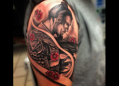 Japanese Tattoo Samurai