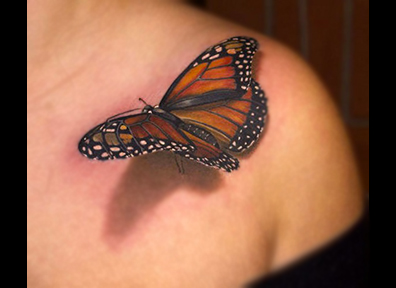 Realistic Tattoo Butterfly