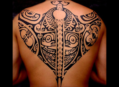 Tribal Tattoo Back