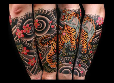 Japanese Tattoo Tiger