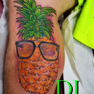 Pinapple Tattoo